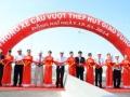 Thông xe cầu Hóa An qua sông Đồng Nai